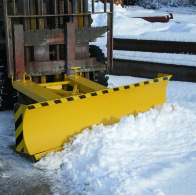 Forklift Snow Scraper Attachment