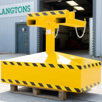 Forklift Brush Attachment | Langtons (Northallerton) Ltd