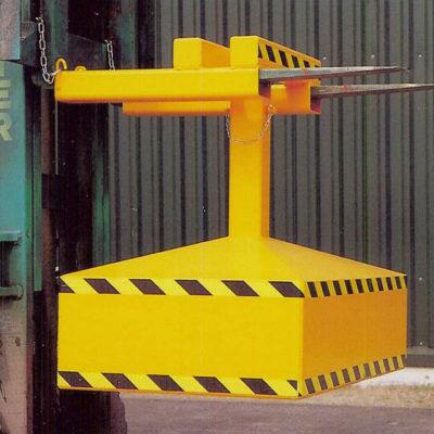 Forklift Waste Compactor