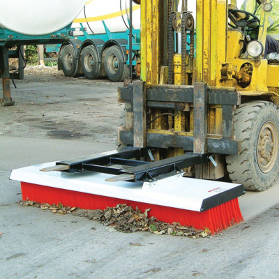 Forklift Brush Attachment