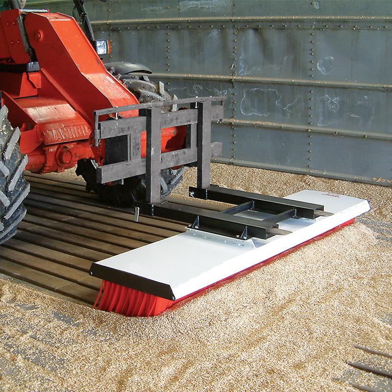Forklift Brush Attachment Langtons Northallerton Ltd
