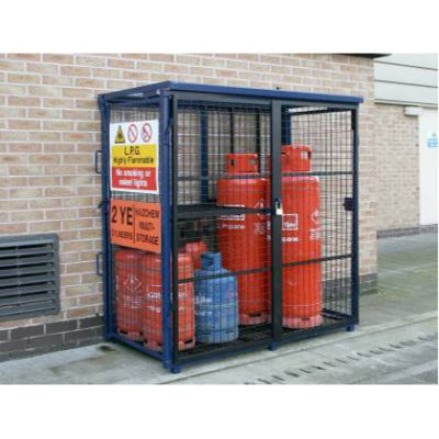 Fold Away Gas Cage