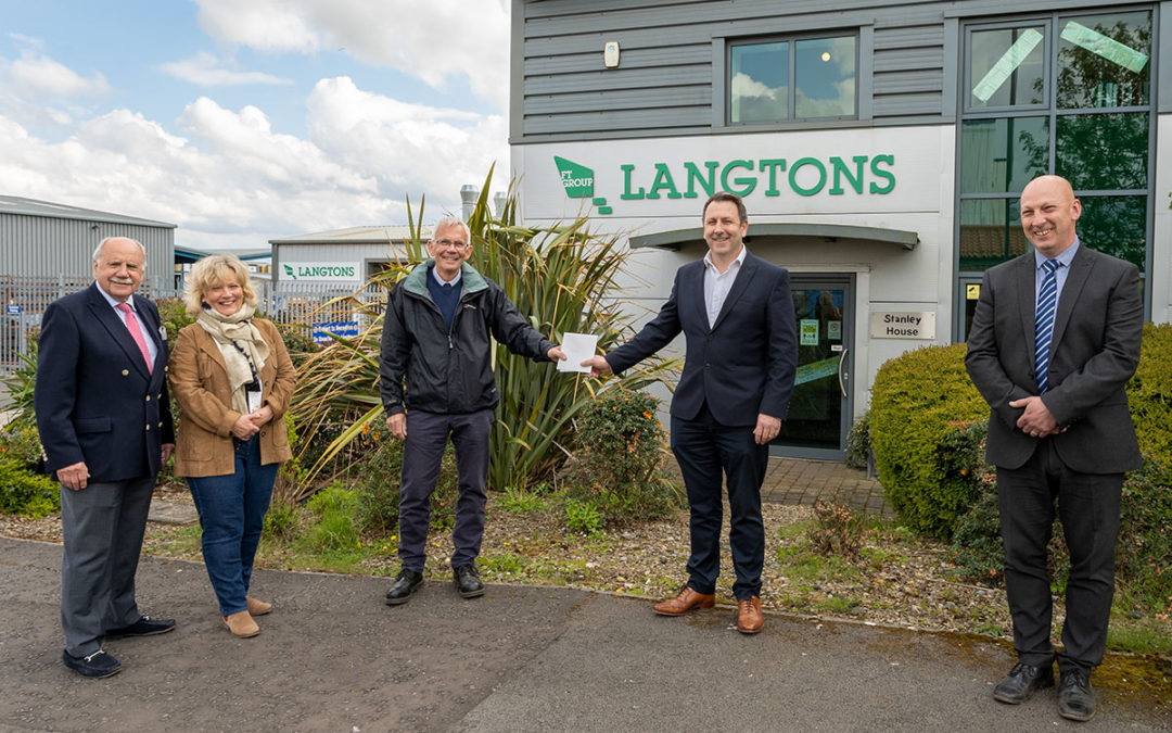 Langton's Employee Retires After 50 Years of Service